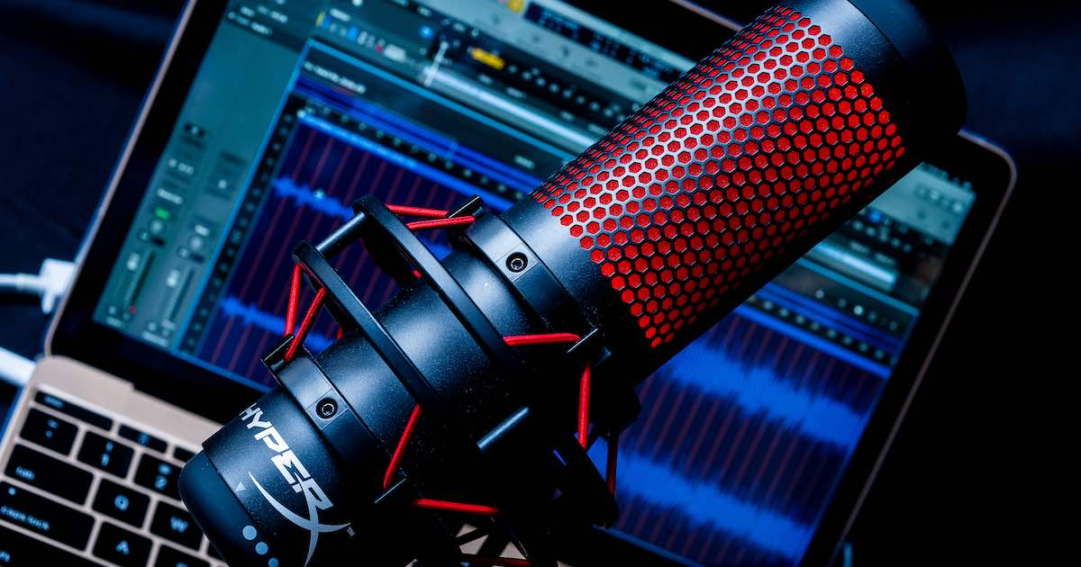 HyperX QuadCast 電競 USB 麥克風評測:聲音清亮、外型超潮超酷炫