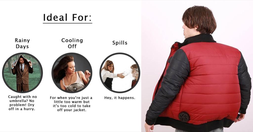 颱風天出門全身濕搭搭?這件中國來的外套讓你輕鬆把自己「吹乾」…