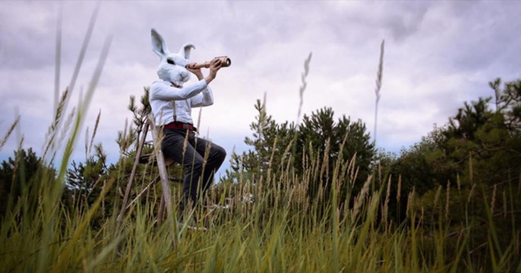 萬聖節立體紙面具讓小孩成為最潮的小南瓜、小白兔、大野狼、骷髏頭!