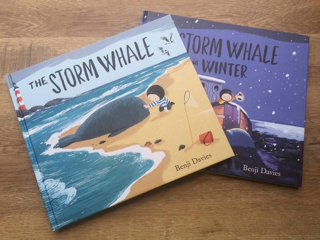 繪本評論:The Storm Whale 和續集 The Storm Whale in Winter
