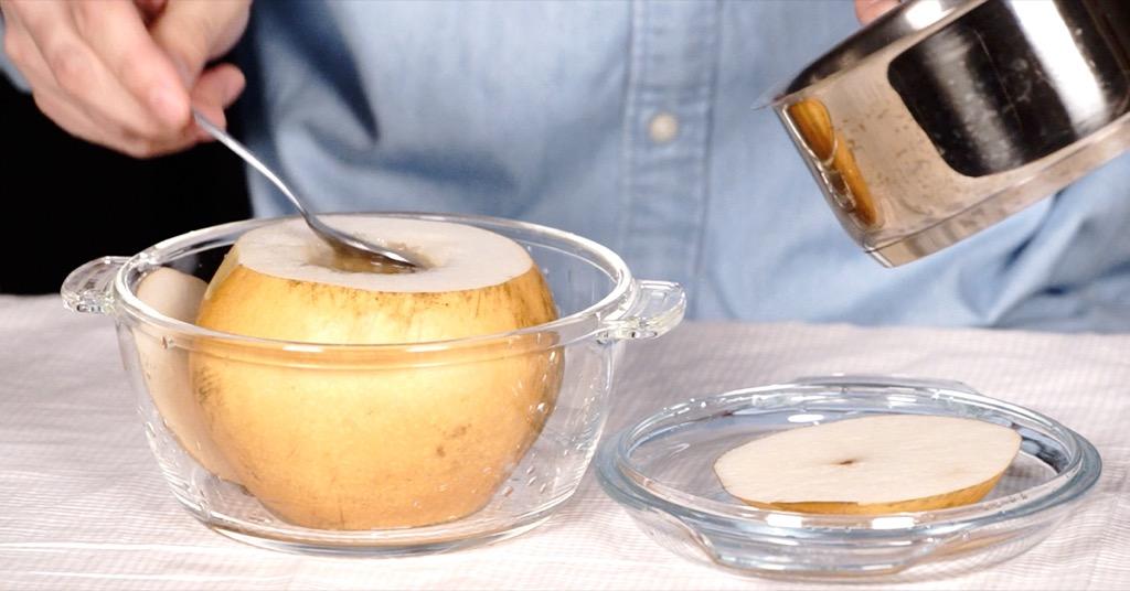 止咳化痰的神奇食譜!讓你不再咳咳嗽的「川貝冰糖燉雪梨」