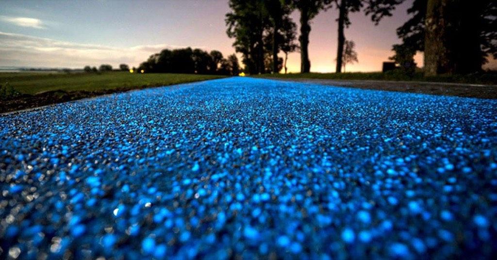 馬祖的藍眼淚上陸了?夜裡自動發光的自行車道,絕美夢幻超酷炫!