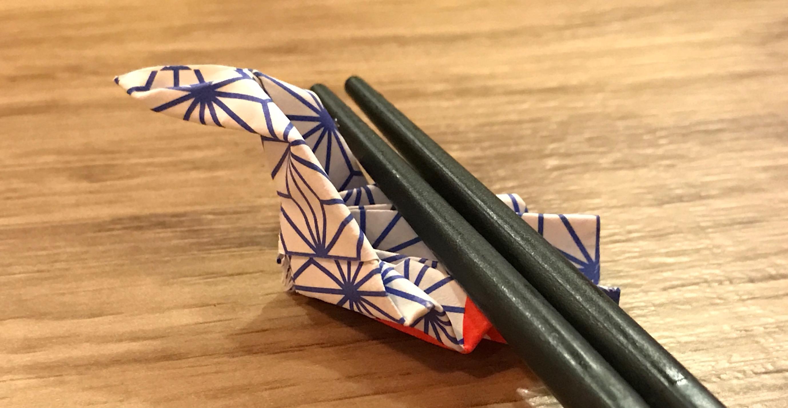 日式摺紙筷套一次上手(一)讓餐桌更優雅的「鴛鴦」
