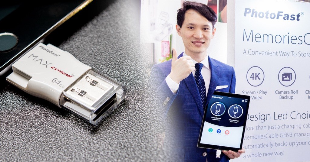 Lightning 3.0 首發之作!新款 PhotoFast MAX EXTREME U3 速度直上 80MB/s,並加入 exFAT 大檔傳輸~