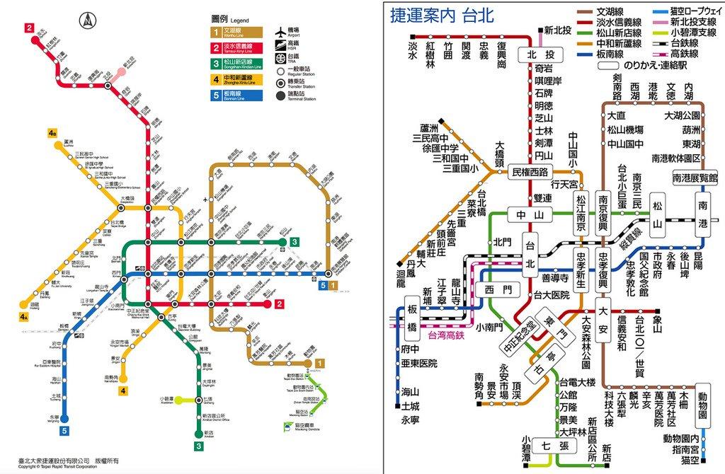 介面設計的兩難:易讀或美觀?北捷官方路線圖並沒你想的那麼「垃圾」,日本鄉民版也沒那麼「完美」