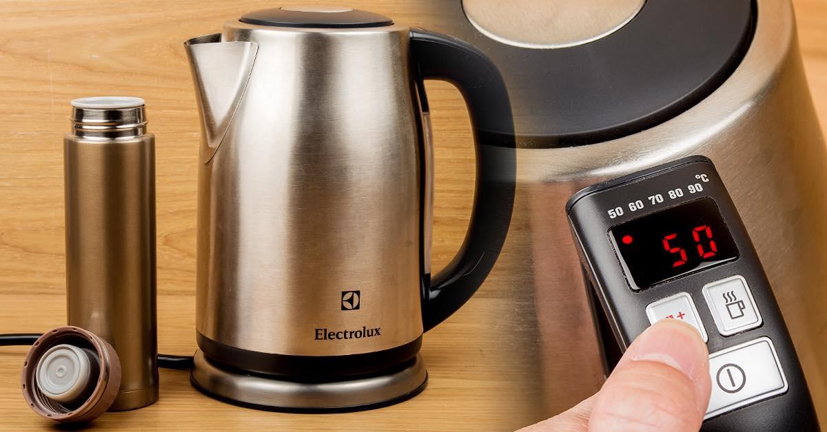 伊萊克斯 EEK6603S 電控快煮壺評測:智慧控溫+大功率快煮