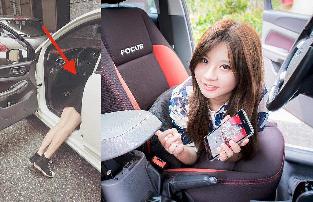 業配文照片這樣拍(一):神癮少女之藍牙接收器車內攝影
