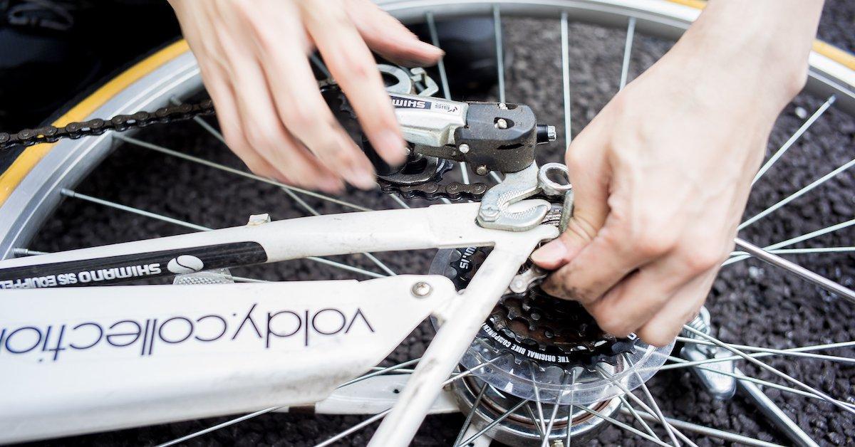 媽媽的腳踏車太老很難騎?淑女車飛輪、煞車換新維修超簡單!