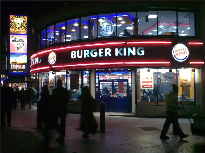 感謝 Flash,讓「漢堡王」的網站登上了行銷史上最高巔峰