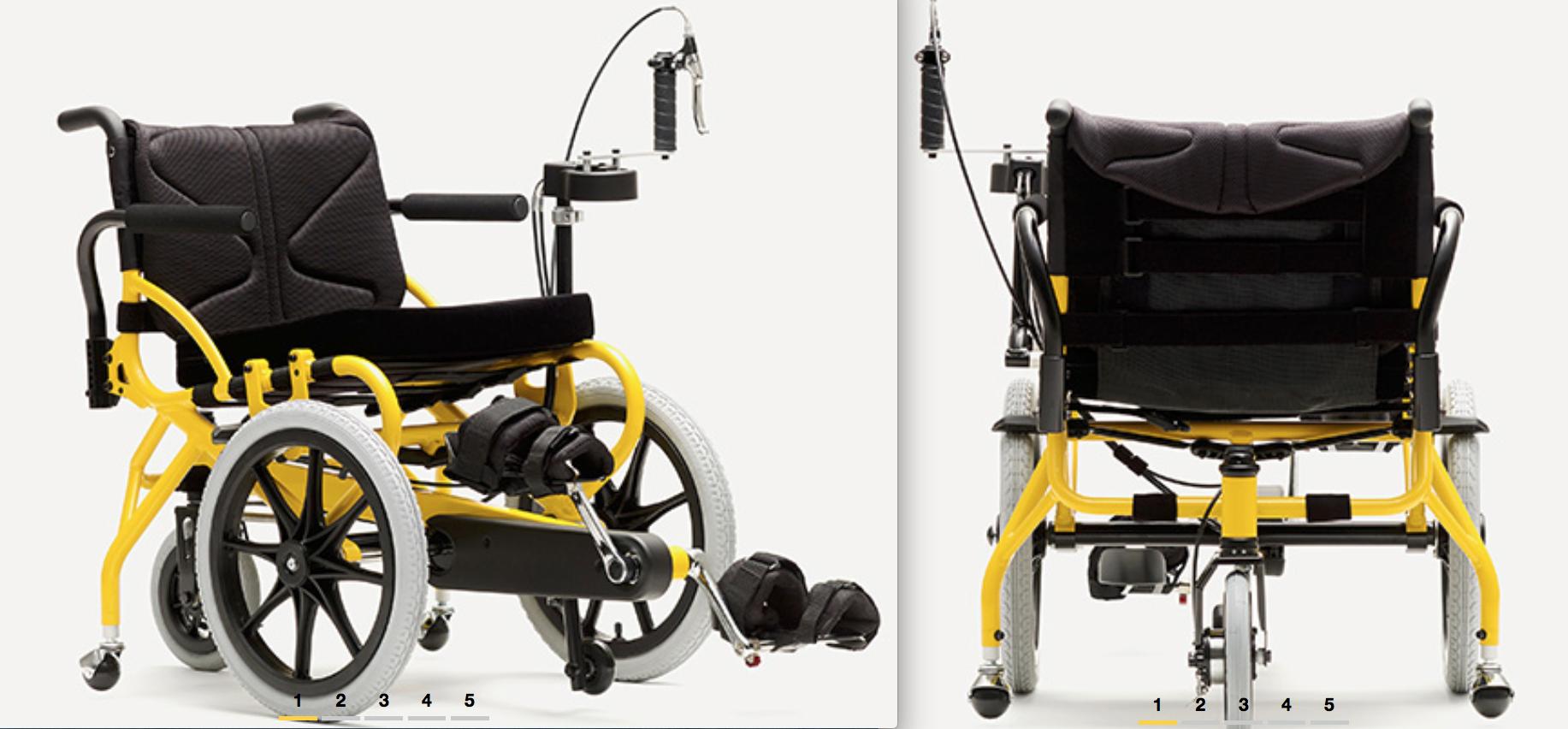 腳踏車加輪椅的奇蹟,不能走的老爺爺真的能動了!