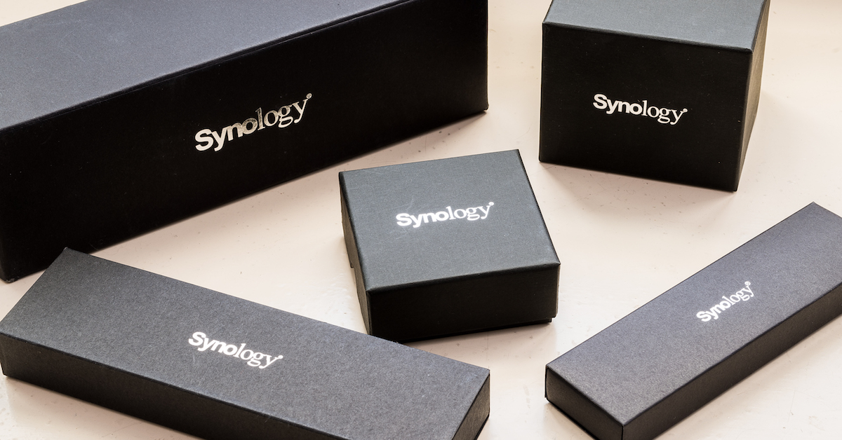 看看這些 Synology 精美活動贈品,所有廠商贈品都應該好好學啊!!