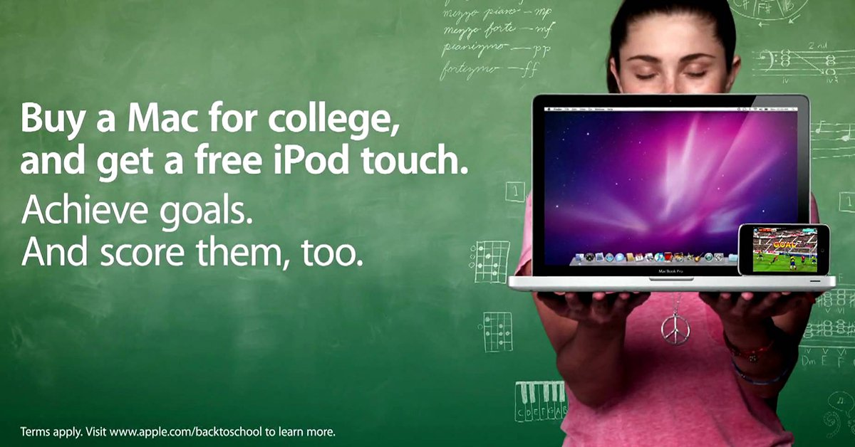 蘋果又開始 Back to school 優惠了!讓我們回顧過去那些同樣令人興奮的送 iPod 優惠吧~