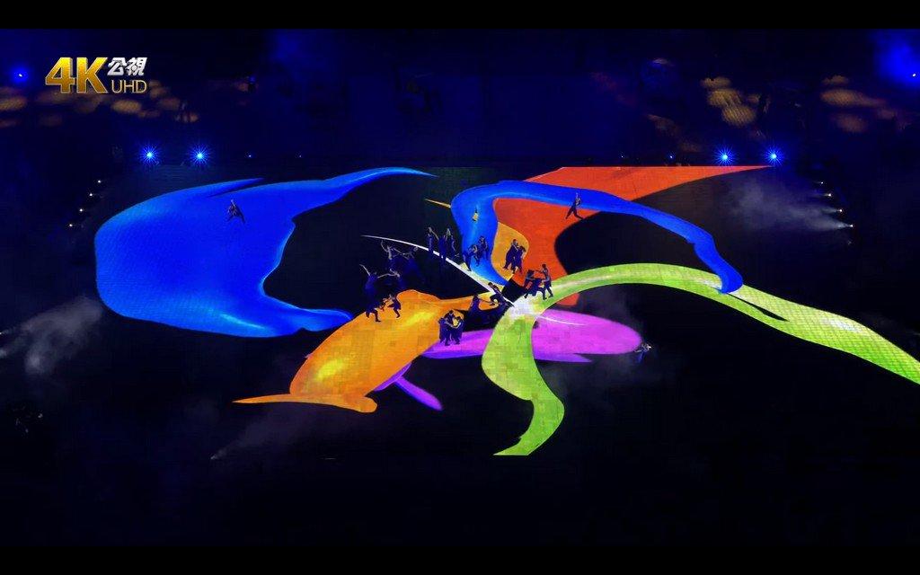 世大運的絢麗開場,1200 平方公尺地面螢幕的夢幻演出是如何辦到的?