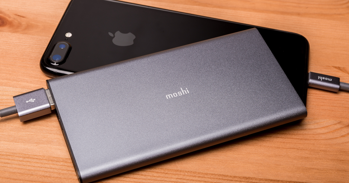 Moshi ionslim 5K 行動電源評測:好貴、好薄、但好有質感