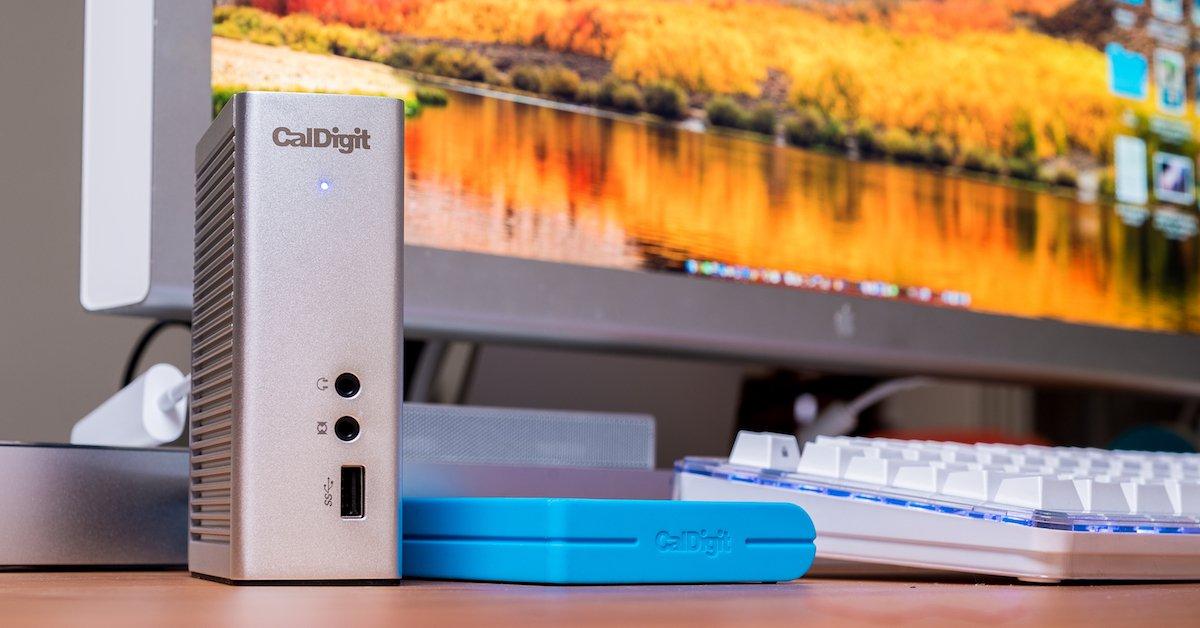 CalDigit ThunderBolt Station 3 評測:解救你 MacBook Pro 轉接線太多的困擾