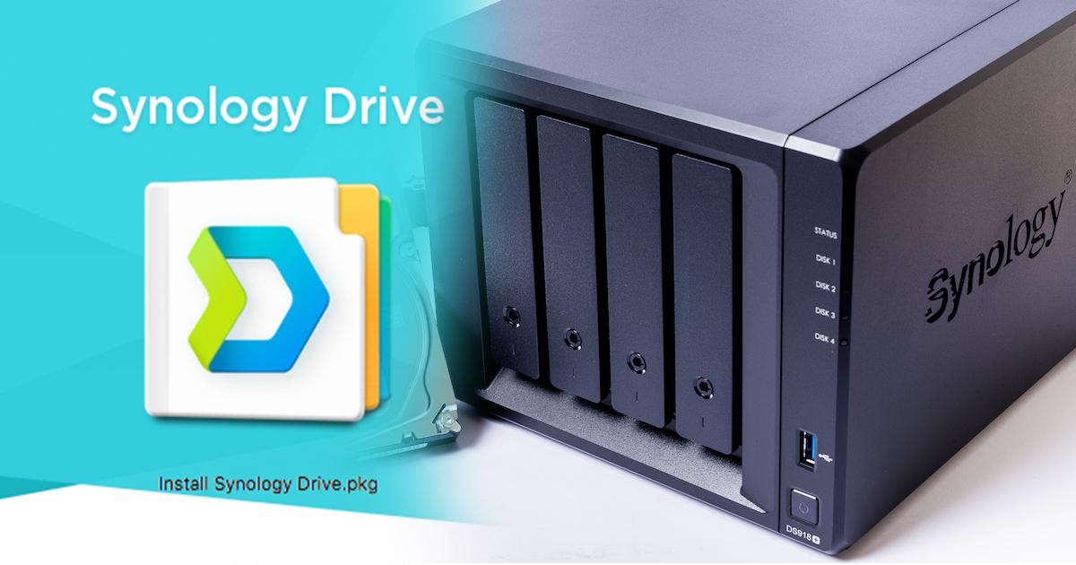 Synology Drive 套件正式登場!讓你擁有「Google Drive」介面的新朋友~