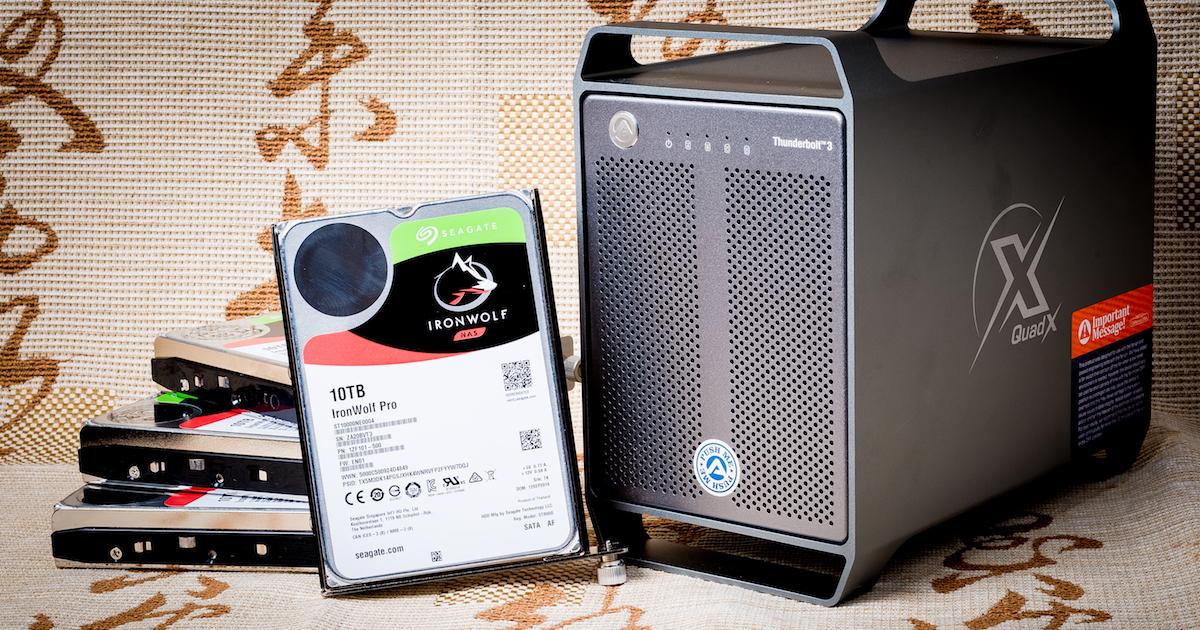 AKiTiO Quad X ThunderBolt 3 評測:四顆硬碟讓你超大又超快~