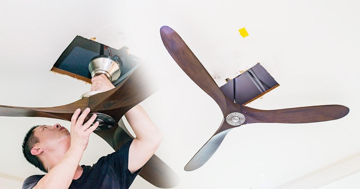 凡爾賽 70″ 飛揚 DC 變頻遙控吊扇開箱!台灣製超美型省電吊扇讓你家全天都超。涼。爽。