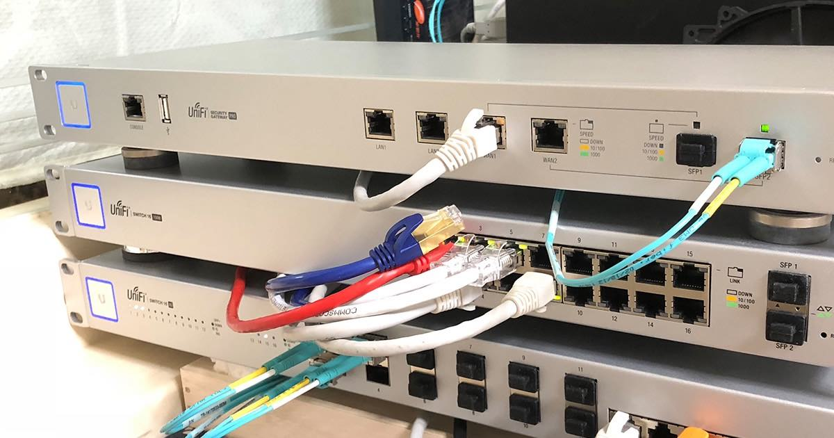Unifi Controller Beta 5.8.8:總算可讓 USG Pro 4 的光纖 Wan 變成 Lan 啦~