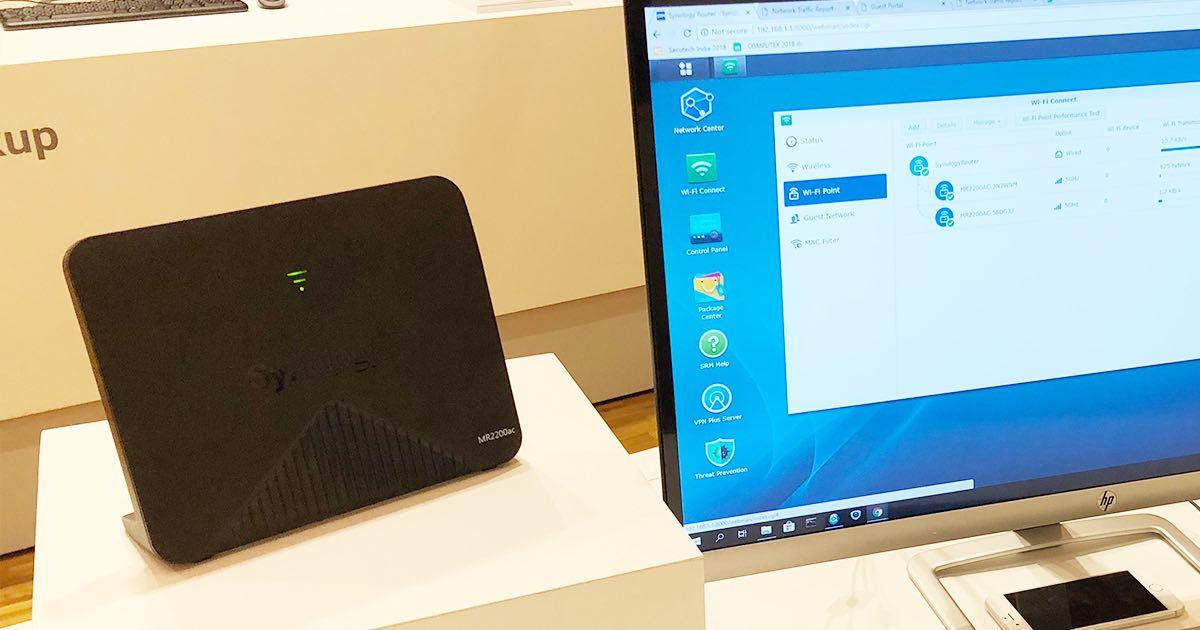 Synology Mesh MR2200ac 基地台正式推出!它會是下一代網路範圍拓展神器嗎?