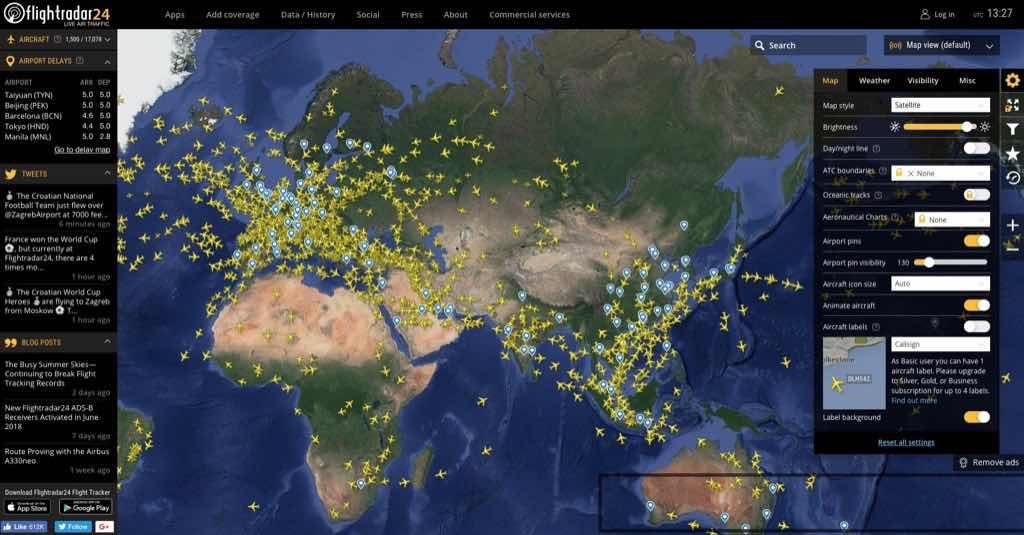 小技巧避免你踩到地雷機票:買機票前花 30 秒查 Flight Tracker 延誤紀錄