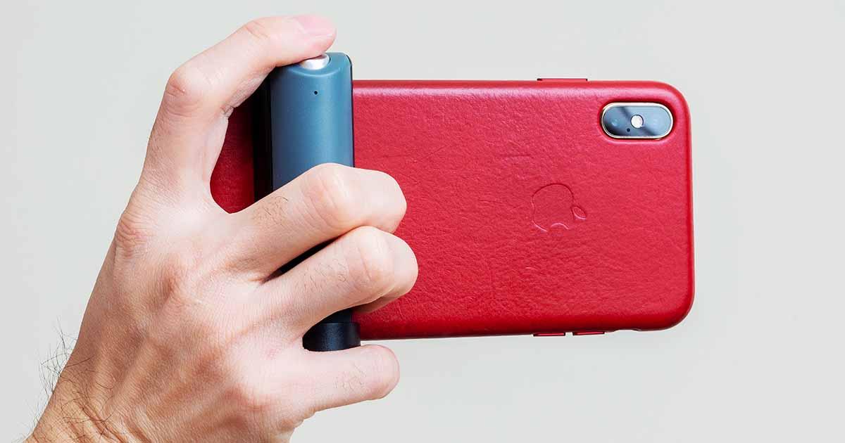 Just Mobile ShutterGrip 手機攝影把手評測:看似搞笑但卻很實用的攝影必備好物