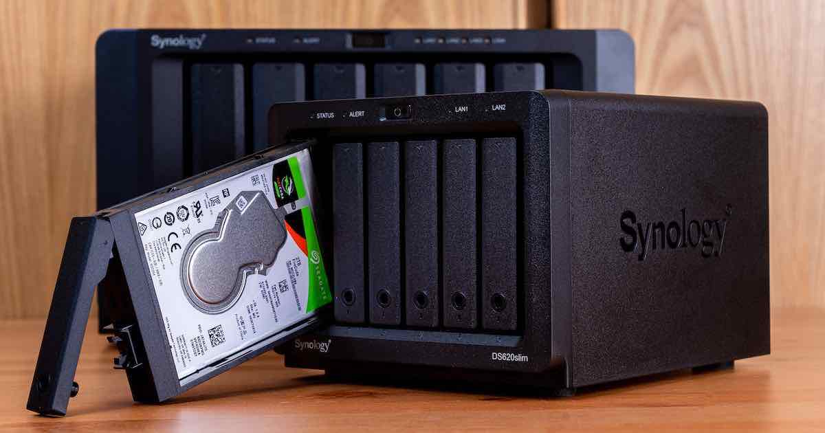 Synology DS620Slim 6Bay 2.5 吋 NAS 評測:小空間首選